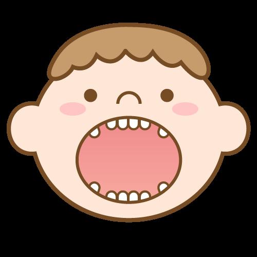 永久歯が乱れて生える可能性があります